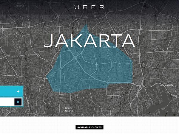 Pengalaman mencoba Uber Jakarta