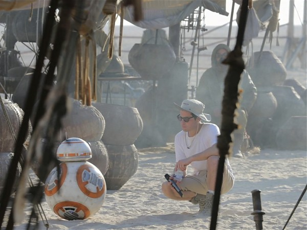 BB-8, the droid from Star Wars Episode VII