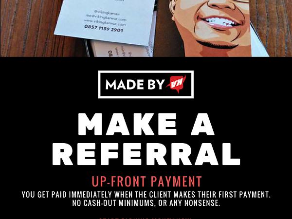 MadebyVK - Make A Referral
