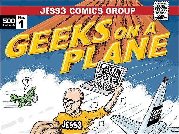500 Startups: Geeks on a Plane